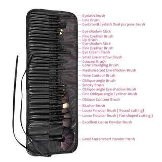 Pro 32 pcs Make-up Brushes Set