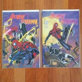 Backlash/Spiderman Comics Full Set