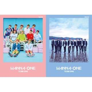 (WTB) wanna one to be one album both ver!