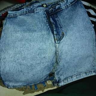 Hotpants highwaist