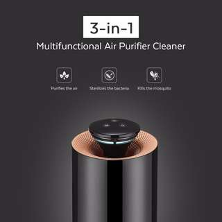 Multifunctional Electric Air Purifier, Mosquito Killer with Activated Carbon Photo-catalyst Ozone UV Light