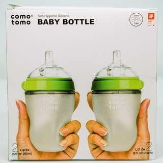 Comotomo Baby Bottle 8 Oz 2 Count