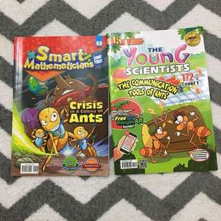 Smart Mathematicians Issue 8 & Young Scientists Level 1 Issue 172