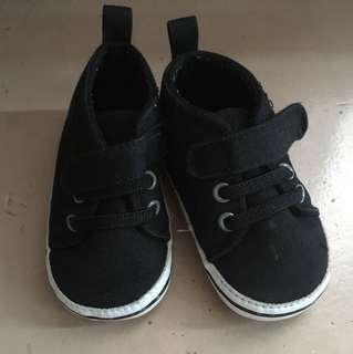 Black Baby Boy Shoes
