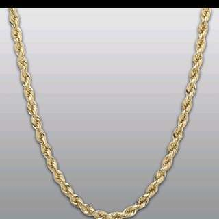 916 Two Tone Gold Necklace