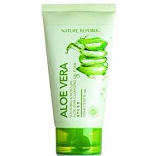 Nature Republic Aloe Vera Cleansing Gel Cream