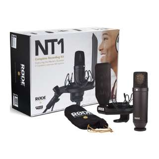 """Rode NT1 Kit 1"""" Cardioid Condenser Microphone with SMR Shockmount NEW"""