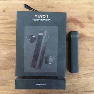 Yevo 1 Wireless Earphones in Black
