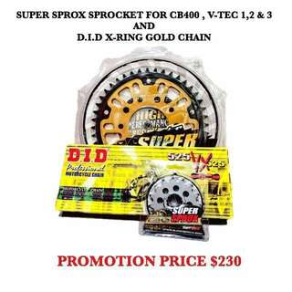 SPROCKET & DID GOLD CHAIN PROMOTION