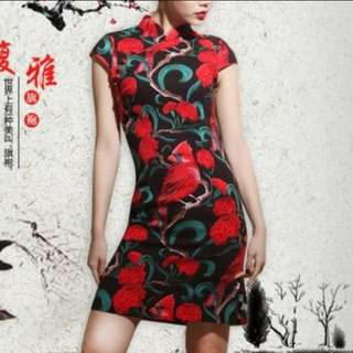 CNY cheongsam (New!)