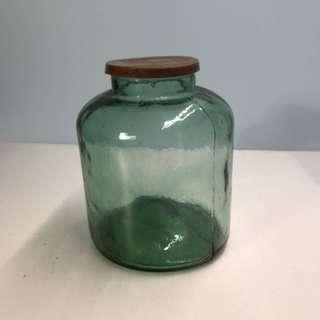 古早玻璃 手工 瓶碗公 花盆 木桶 花籃 竹籃 花盆 杯子 盤子 茶壺 茶具