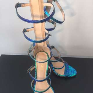 Dolls Kill Mermaid Strappy Heels