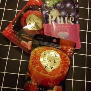Pure 3 different flavour Heart Gummies (Valentines gift)