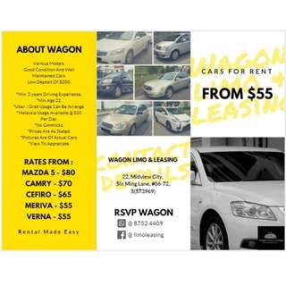 Cars For Rental