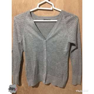 Splash Gray Cardigan
