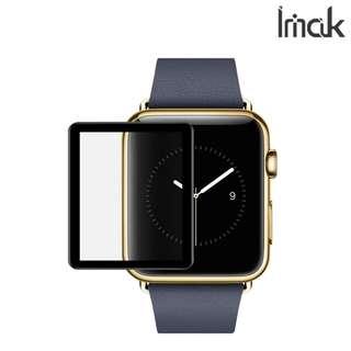 Apple Watch 2/3 42mm 專用IMAK 全屏鋼化玻璃膜Pro+版 手機屏幕防爆保護貼0052A