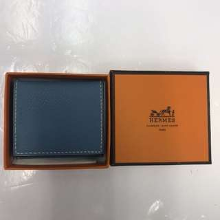 Hermes Leather Photo Holder