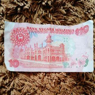 MYR10 old note