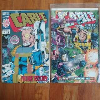 Cable #1 & #25 Marvel Comics