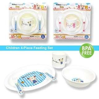 Kids 4 piece Feeding Set