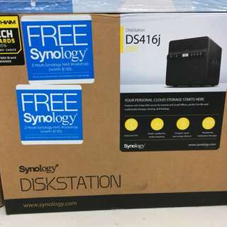 Synology DiskStation DS416J 4-Bay NAS Enclosure