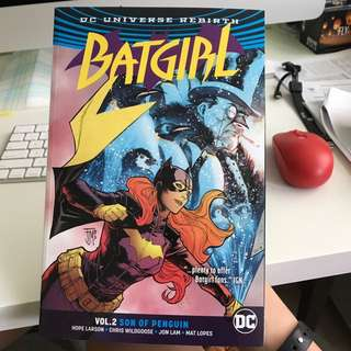 BATGIRL comic: vol.2 Son of Penguin