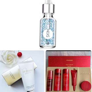 🙀ALL 3@$48!!! Skin Inc Soothing Serum ❤️FULL SIZE❤️ + Cle De Peau Cleansing Clay Scrub + Mamonde Age Control 5 Piece Trial Kit