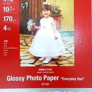 Original Canon Glossy Photo Paper 170g/m 10pcs