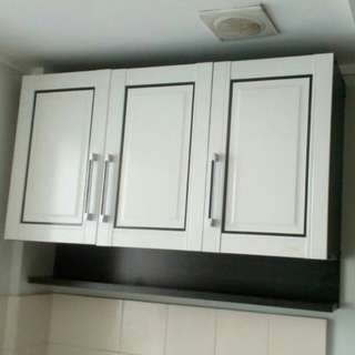 Kitchen Set Atas 3 Pintu Rak bumbu