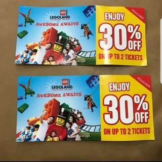 Legoland discounts tickets