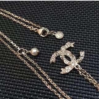 Chanel白金鑽石項鍊 2018今季款