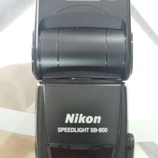 Nikon Speedlight SB 800