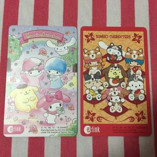 🆕 Limited Edition Sanrio Characters Ezlink Card