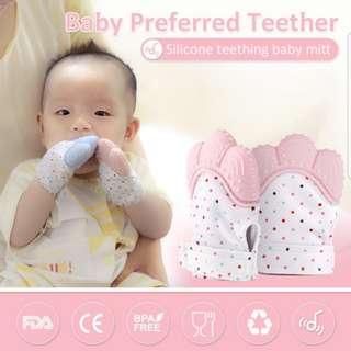 Baby mitten teething preorder