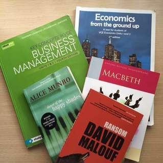 🌷VCE Unit 1/2 Textbooks