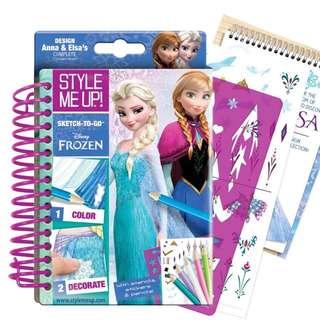 Style Me Up! Disney Frozen Sketchbook To Go
