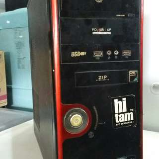 CPU Amd athlon ram 2gb ati radeon