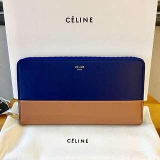Celine SOLO LARGE ZIPPED wallet