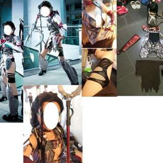 LOL Headhunter Nidalee英雄聯盟獵頭者奈德麗cosplay