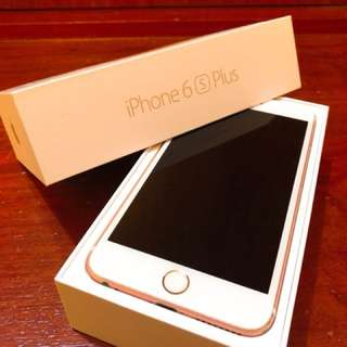 Iphone 6S plus 128G (8成新)
