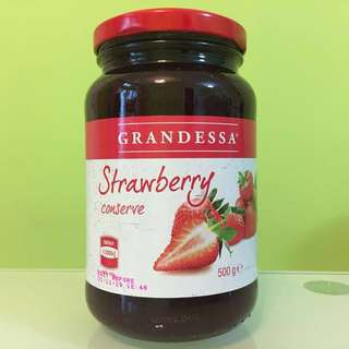 【購自澳洲】士多啤梨果醬 ~澳洲製造~ 【Grandessa】Strawberry Conserve / Jam ~Made in Australia~【100% NEW & Sealed】