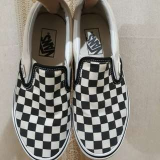 AUTHENTIC Vans Checkboard Slip-on