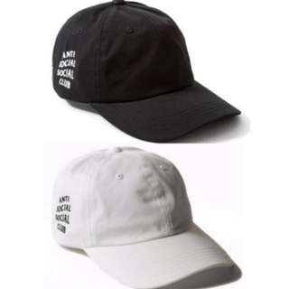 ASSC Anti Social Social Club Cap