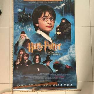 BN 2 sided Movie Poster ( Harry Potter )