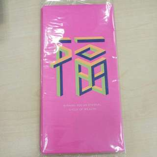 BN pink angbao red packet