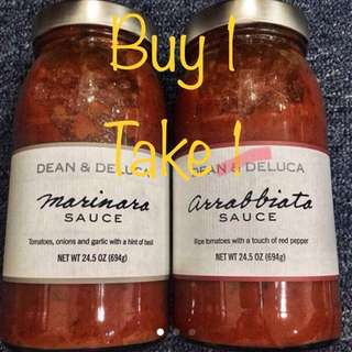 Arrabbiatta & Marinara Sauce Buy 1 Take 1