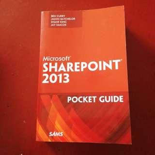 SAMS Microsoft Sharepoint 2013 Pocket Guide Pearson