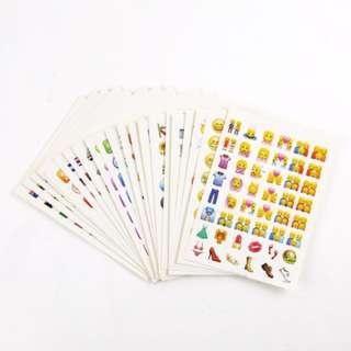 Cute IOS9.1 Emoji Sticker Traveller's Notebook 28pcs