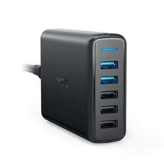 •BRAND NEW• Anker PowerPort 5 QC3.0 Black