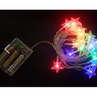 *New* Fairy Lights (Star shaped) - for Wedding / Home / Event Decorations
